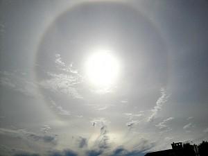Seattle sun dog, 6-11-14
